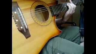 Кузнечик (гитара) на мажорный лад