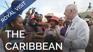 The Prince of Wales visits the Caribbean