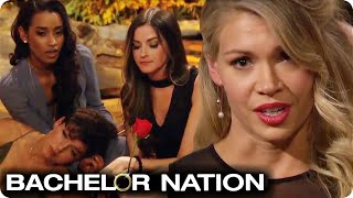 Krystal Interrupts Arie During The Rose Ceremony! | The Bachelor US