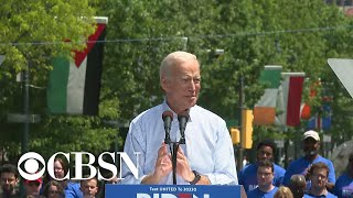 Joe Biden kicks off 2020 campaign with rally in Philadelphia