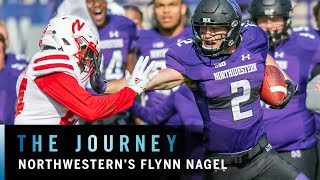 Flynn Nagel Helps Northwestern to Big Ten West Title | Big Ten Football | The Journey