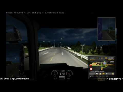 Euro Truck Simulator 2 MP Ep 76 Tryckbehållare från Oslo (N) till Kristiansand (N)