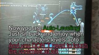 FFXII : Auto-Leveling Tutorial (AUTO LEVEL UP!)