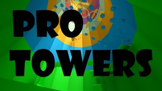 How To Get To The End Of Pro Towers | Roblox Tower of Hell