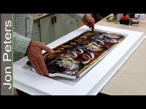How to Frame Works on Sheet Metal & Install with French Cleat