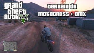 GTA V Terrain de Motocross et BMX