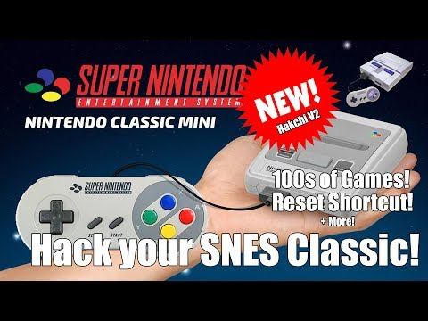 Hack your SNES Classic Mini