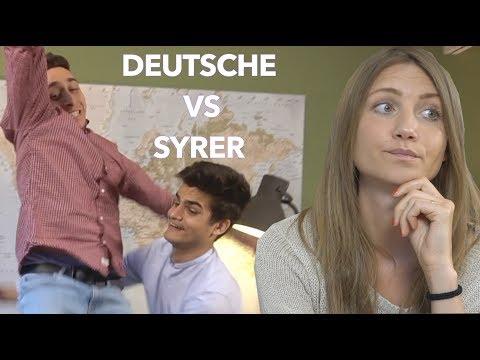 Wie vereinbart man einen Termin?(Urlaub) Deutsche Vs Syrer- كيف يتم التخطيط لقضاء عطلة؟سوري/ألماني