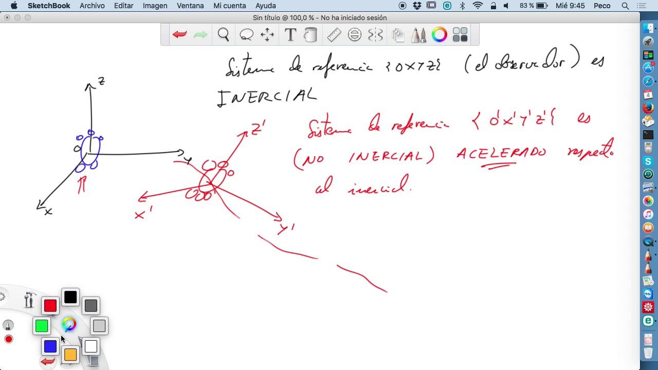Sistemas de referencia no inerciales. Traslación pura - YouTube