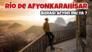 AFYON'DA 48 SAAT GEÇİRMEK! - Burası Afyon mu ya? - Gezi Vlog#21