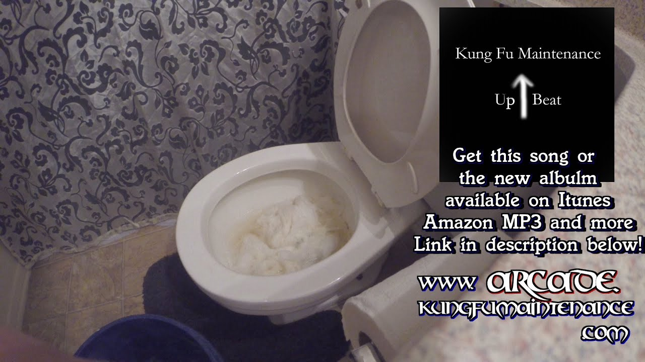 how to flush toilet if you have no water outage after earthquake emergency video - Power Flush Toilet