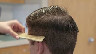 How to cut men's hair for beginners (tutorial)