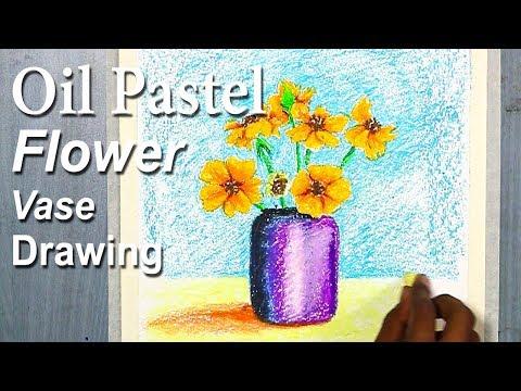 Download Video Simple Flower Vase Drawing For Beginners In Oil