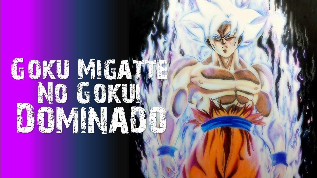 Dibujo de Goku Migatte No Gokui Dominado / Ultra Instinct 100% /Jano Matta  - YouTube