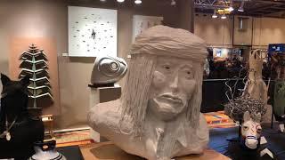 Best Of Show - Sculpture | Santa Fe Indian Market 2018 Clip 2