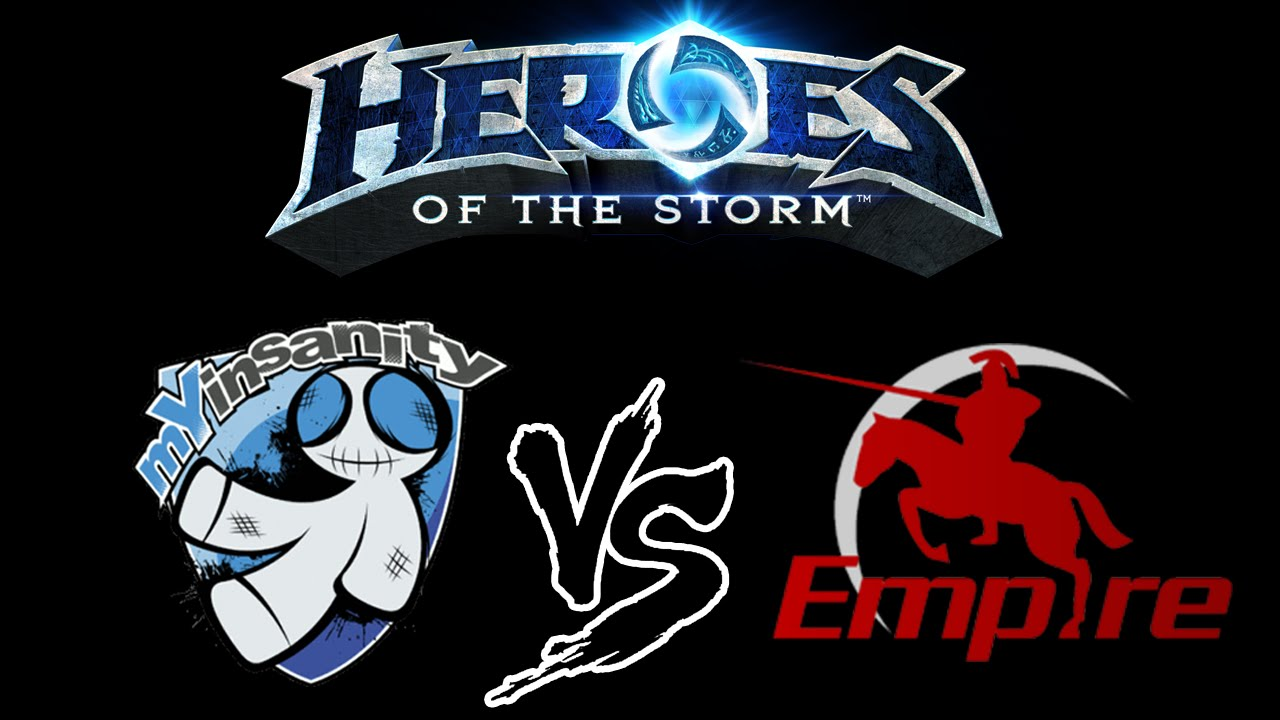 Heroes of the Storm: mYinsanity vs. Empire (Alpha Cast)