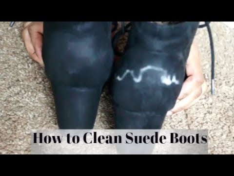 How To Clean The Salt Off Suede Boots