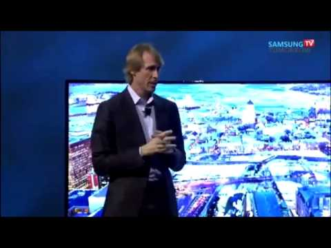 Michael Bay Walks Off Stage at CES 2014 Keynote!