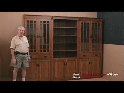 Barn Furniture - Amish Display Bookcases