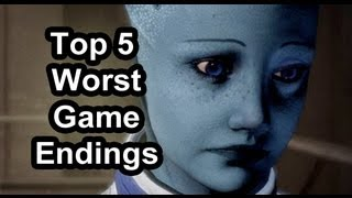 Top 5 - Worst game endings of recent years (Spoiler alert)