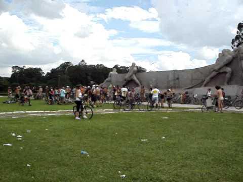 WNBR São Paulo 2009 - Monumento às Bandeiras