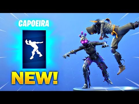 New Capoeira Emote On All New Fortnite Skins With All Popular