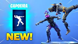 *NEW* CAPOEIRA EMOTE On All New Fortnite Skins & With All Popular Fortnite Skins!