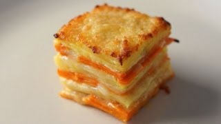 Yams & Sweet Potato Gratin - Bruno Albouze - The Real Deal