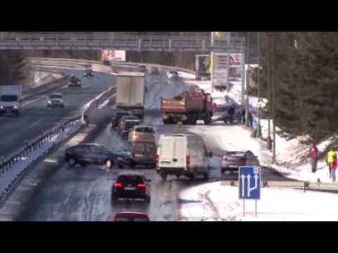 Tai nạn giao thông tại Séc 15-3-2010