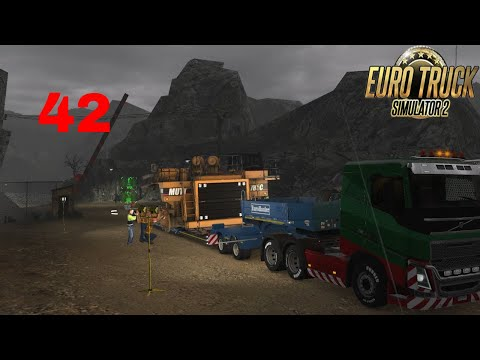 Let's Play Euro Truck Simulator 2 - Italia DLC Part 42 Special Transport Haul Truck Chassis