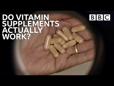 Vitamin and Supplement Pills: Miracle or Myth? - BBC