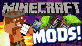 Repeat youtube video Minecraft Mods | HOW TO INSTALL MINECRAFT MODS ON POCKET EDITION | (Minecraft 0.10.4)