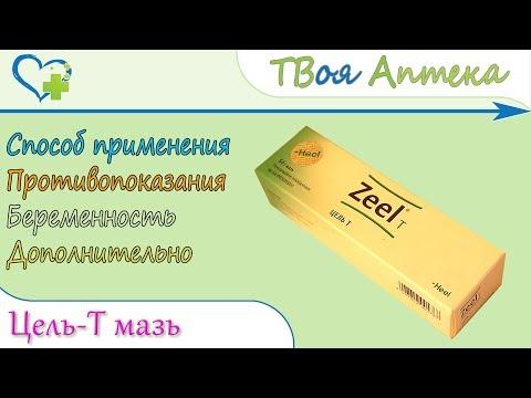 Цель-Т мазь (Гомеопатический препарат) показания, описание, отзывы