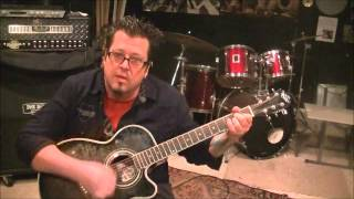 How to play Heard It In A Love Song by Marshall Tucker Band on guitar by Mike Gross