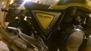 Купил мотоцикл HONDA CB400SF.Какие вложения нужны