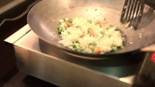 Рис с овощами: видео рецепт