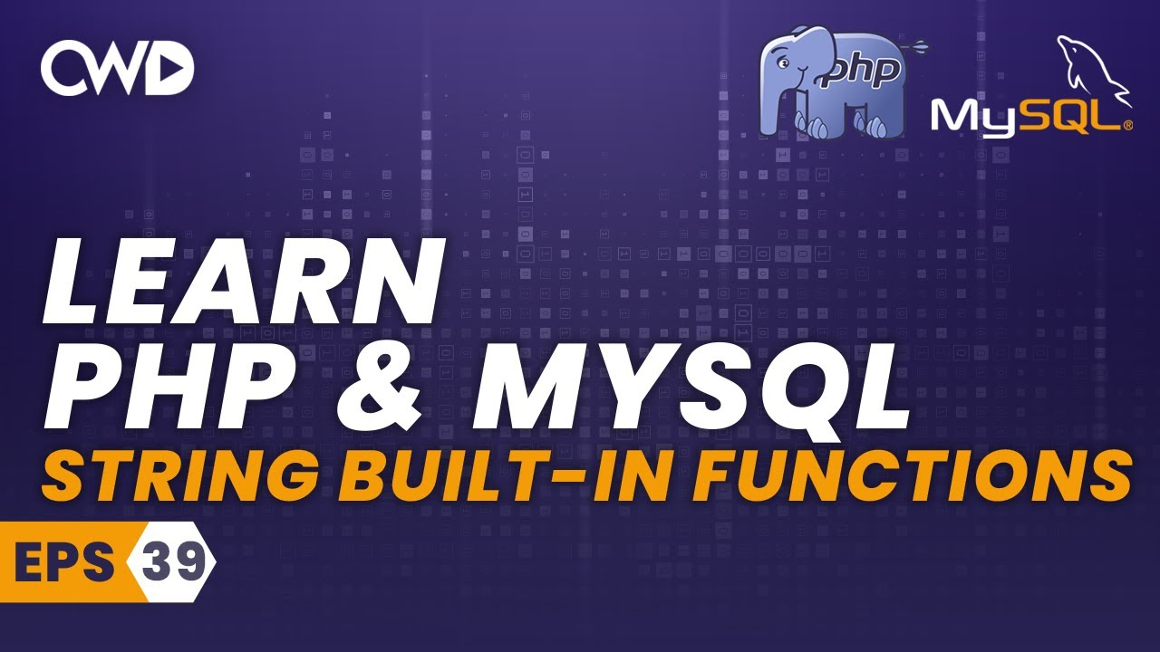 String Built-In Functions - PHP for beginners - PHP Programming