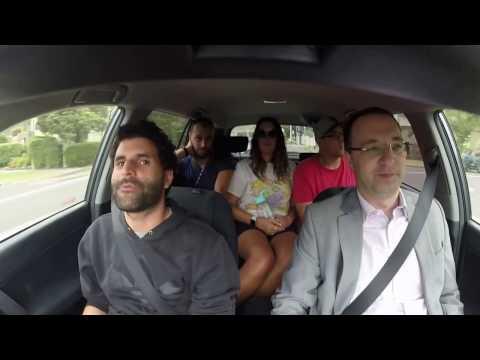 Etai knows what a pilot is - Carpool Karaoke with JSL