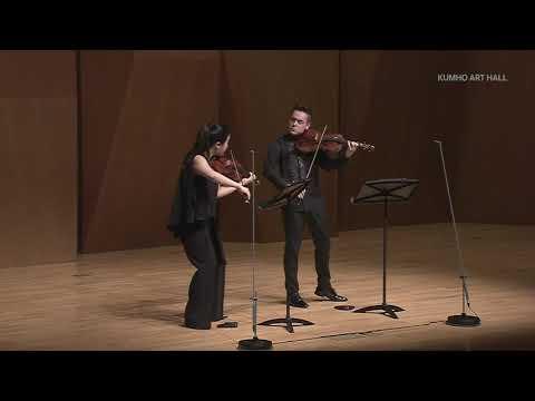 NEW TO YOUTUBE | VC Artists Ji Young Lim & Matthew Lipman – Mozart 'Duo' [2019]