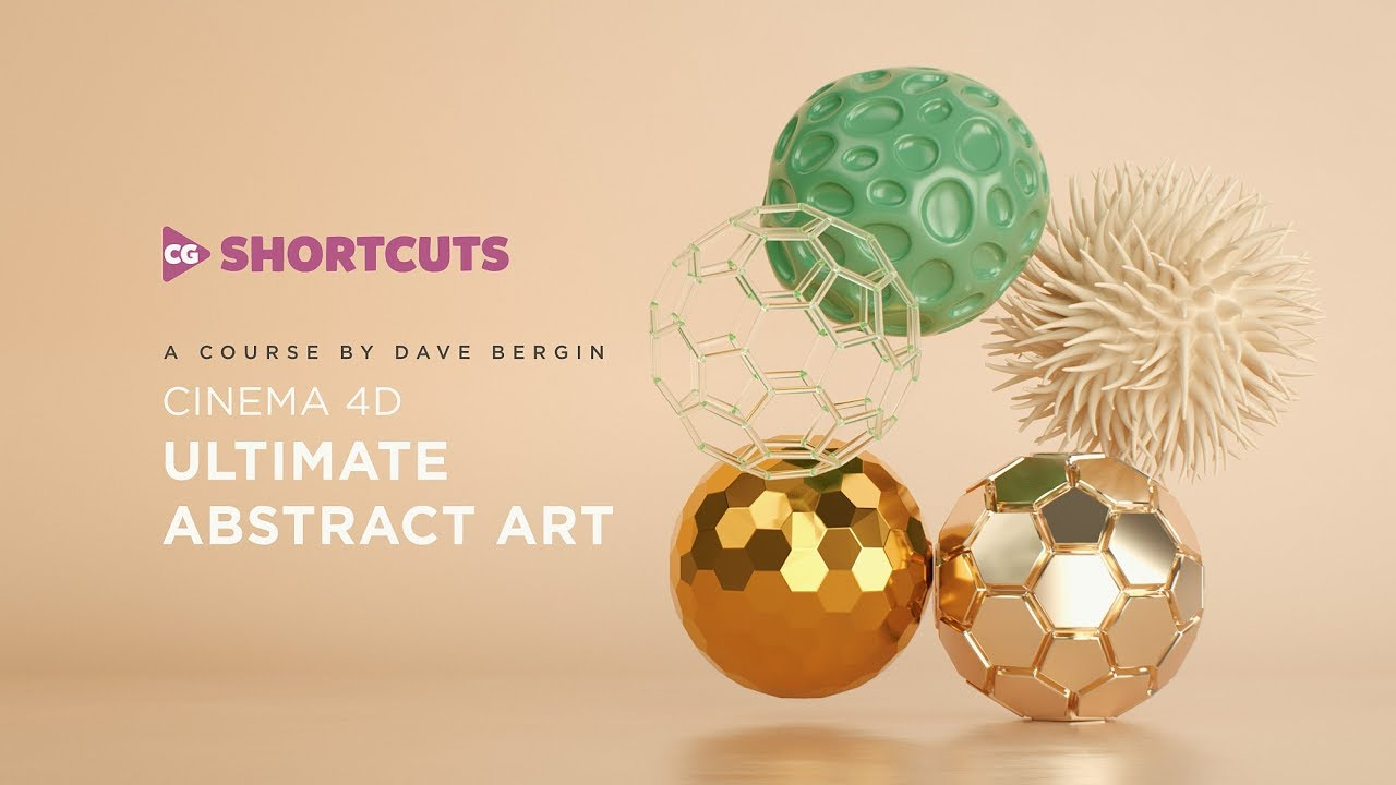 Ultimate Abstract Art Cinema 4D Course Out Now