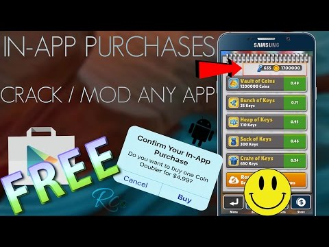 How To Get IN-APP Purchases For FREE & Crack / MOD Any Android App / Games - NO ROOT - NO COMPUTER !