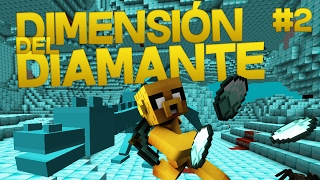DIAMANTES INFINITOS EN MINECRAFT 💵| DIMENSIÓN DIAMANTE MINECRAFT