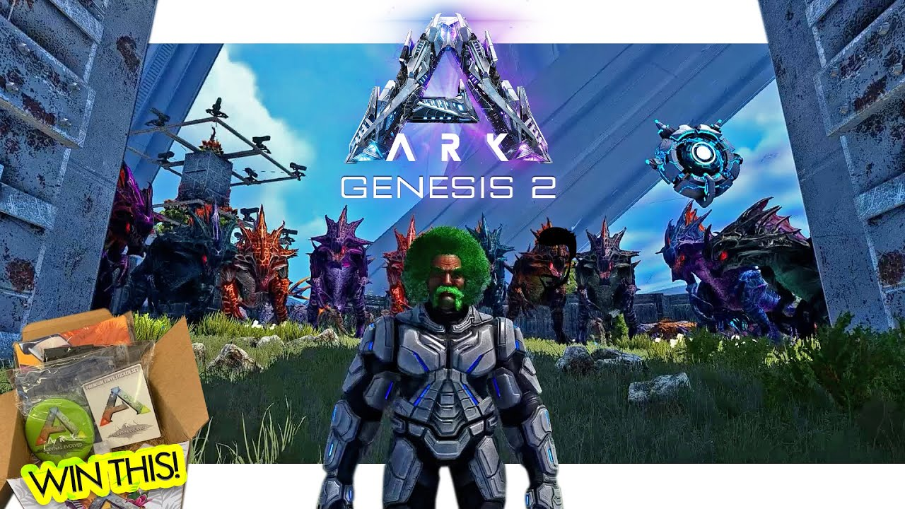 Taming ALL THE R-REAPERS in ARK Genesis 2(with SUMMERBASH GIVEAWAY!)  - Ep14.1 LIVE