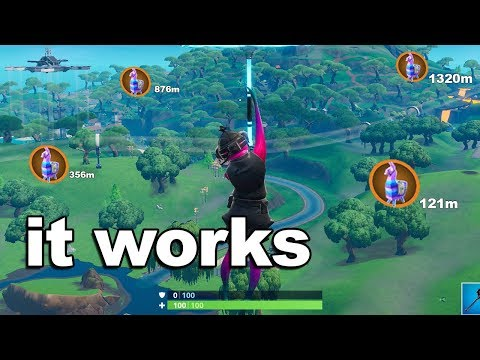 How To Find Every LLAMA In A Game Of Fortnite...