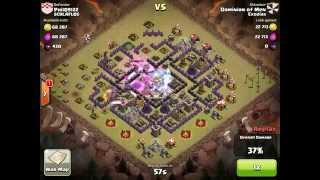 Clash of Clans - Clan War EXODIAS vs SCHLAFLOS part 18