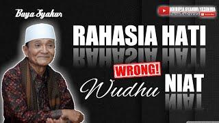 Download Subhanallah !! Inilah salah satu rahasia berwudhu || Buya Syakur Yasin Ma