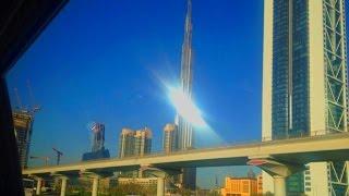 Dubaï La Burj Khalifa Skyscaper Tour la plus haute du monde United Arab Emirates