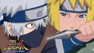 КАКАШИ ПРОТИВ МИНАТО | Naruto Shippuden: Ultimate Ninja Storm Generations Русские Субтитры
