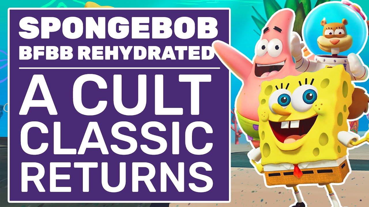 SpongeBob Battle For Bikini Bottom Rehydrated Review | A Cult Classic Returns