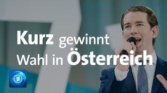 Wahl in Österreich: Kurz klarer Sieger, FPÖ abgestraft